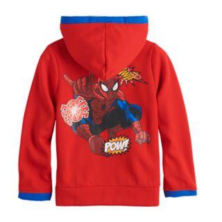 Toddler Boy Marvel Spider-Man Zip Hoodie