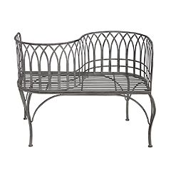 Modern Indoor / Outdoor Curved Loveseat Bench