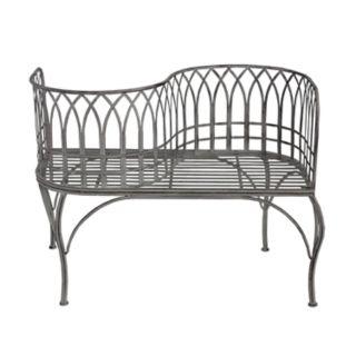 Modern Indoor / Outdoor Curved Loveseat Bench