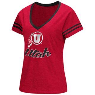 Women's Colosseum Utah Utes Dual Blend Tee