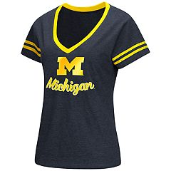 Women's Michigan Wolverines Varsity Tee