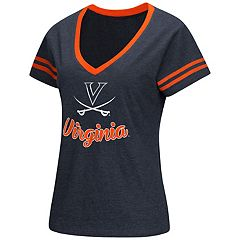 Women's Colosseum Virginia Cavaliers Dual Blend Tee