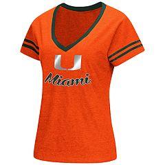 Women's Miami Hurricanes Varsity Tee
