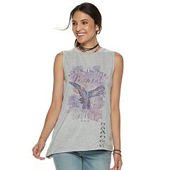 Women's Rock & Republic® 'Live in the Moment' Eagle Graphic Tee