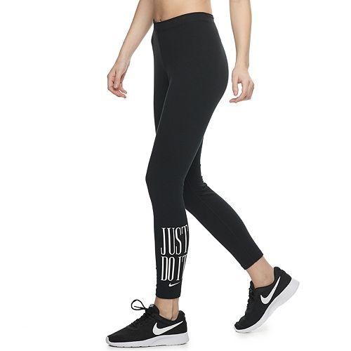 6215940e9c626 Women's Nike Sportswear Just Do It Mid-Rise Leggings