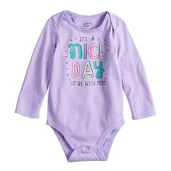 Baby Girl Jumping Beans® 'Joy To The World' Graphic Bodysuit