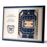 Butler Bulldogs 3D Stadium Wall Art