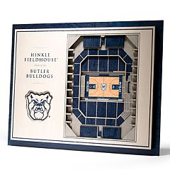 Butler Bulldogs 3D Stadium Wall Art