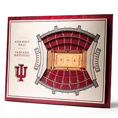 Indiana Hoosiers 3D Stadium Wall Art