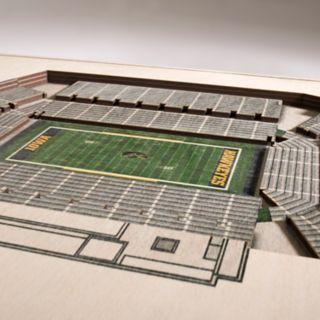 Iowa Hawkeyes 3D Stadium Wall Art