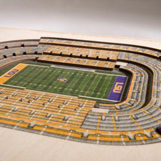 LSU Tigers 3D Stadium Wall Art