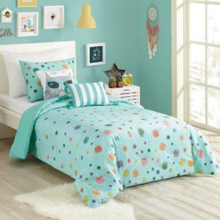 Urban Playground Raining Pom Pom Comforter Set