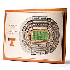 Tennessee Volunteers 3D Stadium Wall Art