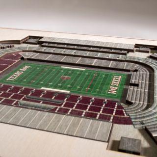 Texas A&M Aggies 3D Stadium Wall Art