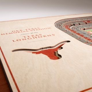 Texas Longhorns 3D Stadium Wall Art