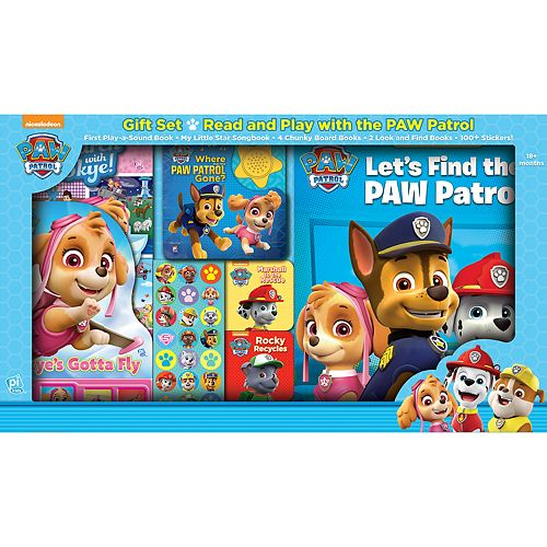 1bc38d26f9 Paw Patrol Read and Play Gift Set by PI Kids