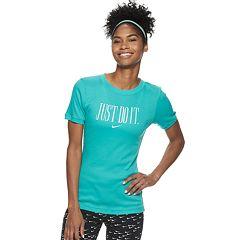 Women's Nike Sportswear Short-Sleeve Just Do It Graphic Top
