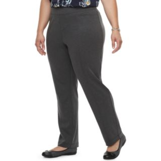 Plus Size Croft & Barrow® Easy Care Pull-On Pants