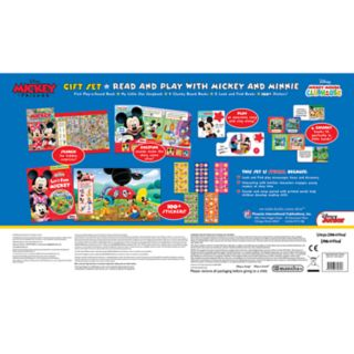 Disney's Mickey & Minnie Mouse Read and Play Gift Set by PI Kids