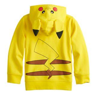 Boys 4-12 Jumping Beans® Pokemon Pikachu Zip Hoodie