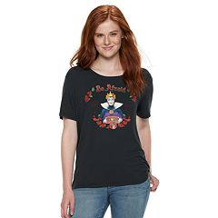 Disney's Snow White and the Seven Dwarfs Juniors' 'Be Afraid' Tee