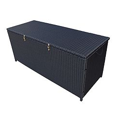Oakland Living Indoor / Outdoor 113 Gallon Wicker Storage Bin
