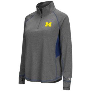 Women's Michigan Wolverines Sabre Pullover