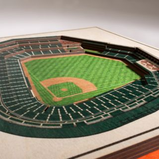 Baltimore Orioles 3D Stadium Wall Art