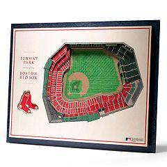 Boston Red Sox 3D Stadium Wall Art
