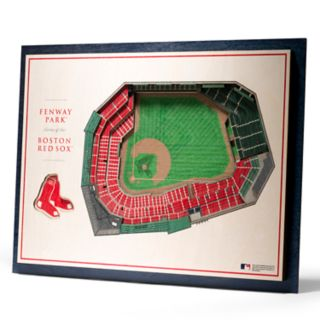 Boston Red Sox 3D Stadium Wall Art