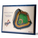 Los Angeles Dodgers 3D Stadium Wall Art