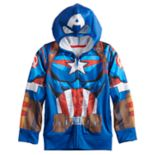 Boys 4-12 Jumping Beans® Marvel Captain America Zip Hoodie