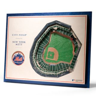New York Mets 3D Stadium Wall Art