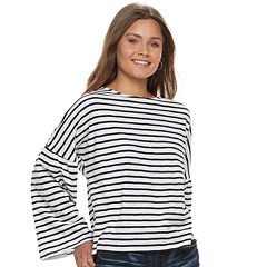 Juniors' Grayson Threads Hatchi Bell Sleeve Top