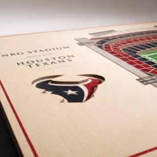 Houston Texans 3D Stadium Wall Art