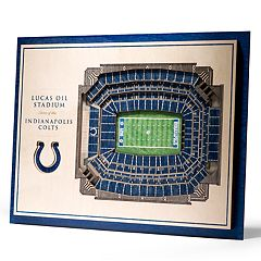 Indianapolis Colts 3D Stadium Wall Art