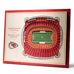 Kansas City Chiefs 3D Stadium Wall Art