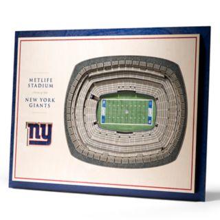 New York Giants 3D Stadium Wall Art