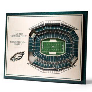 Philadelphia Eagles 3D Stadium Wall Art