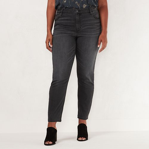Plus Size LC Lauren Conrad Feel Good Midrise Skinny Jeans