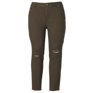 Plus Size LC Lauren Conrad Feel Good Midrise Skinny Jeans