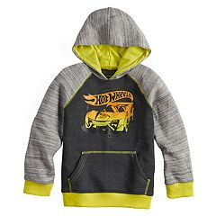 Boys 4-12 Jumping Beans® Hot Wheels Raglan Pullover Hoodie