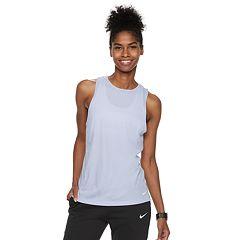 Women's Nike Dri-FIT Open-Back Training Tank