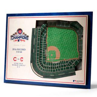 Chicago Cubs 3D Stadium Wall Art