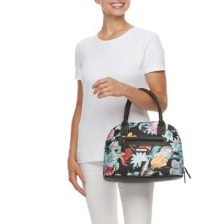 Stone & Co. Plugged-In Floral Domed Satchel