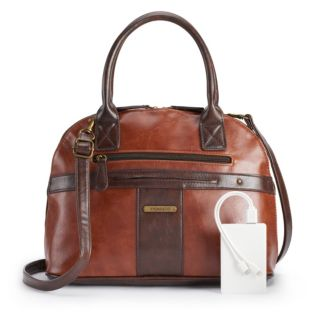 Stone & Co. Plugged-In Vintage Domed Satchel