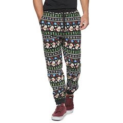 Men's Hollywood Jeans Santa Jogger Pants