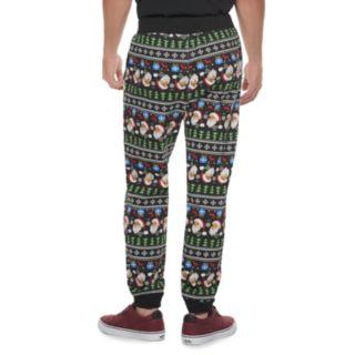 Men's Hollywood Jeans Santa Jogger Pants