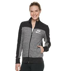 bc661cf40886 Women s Nike Sportswear Gym Vintage Track Jacket