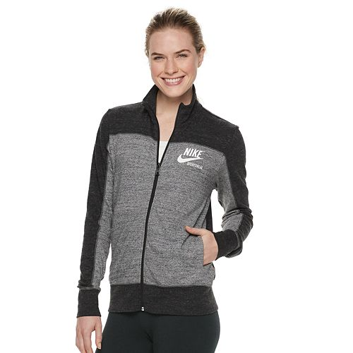 Women's Nike Sportswear Gym Vintage Track Jacket